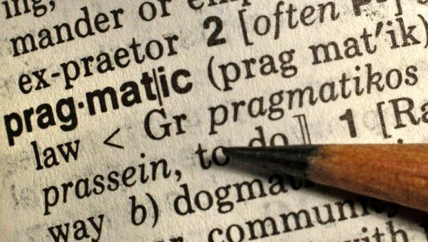 шта значи реч прагматична особа