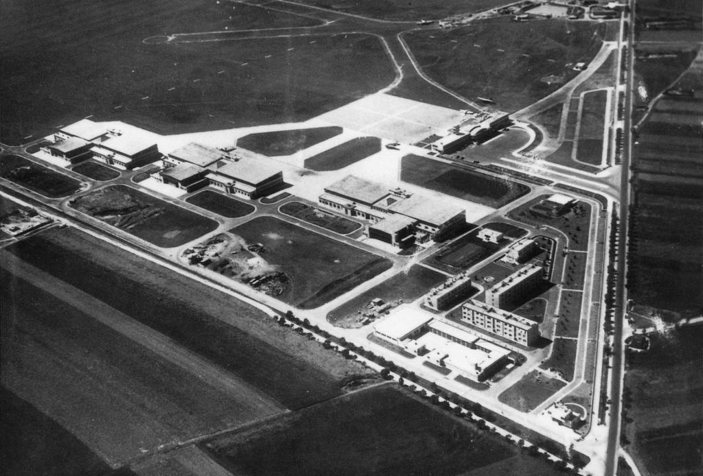 Летище Прага, 1938
