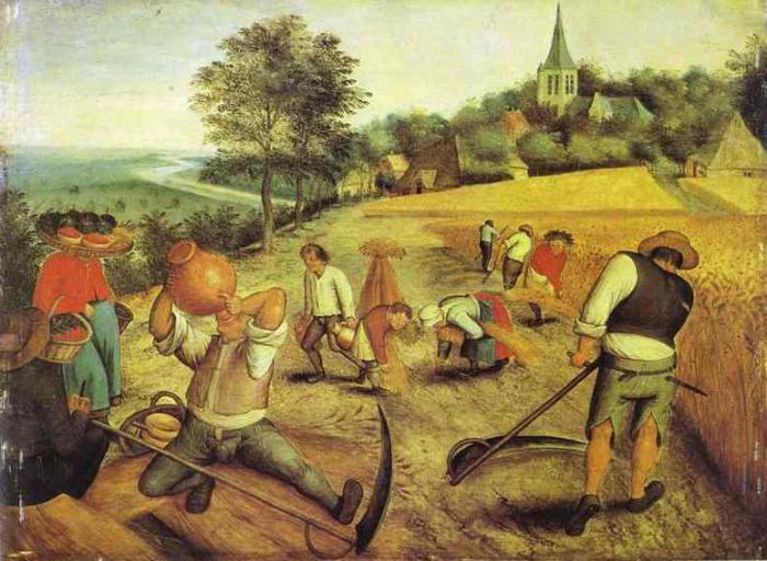 caratteristiche caratteristiche della società pre-industriale