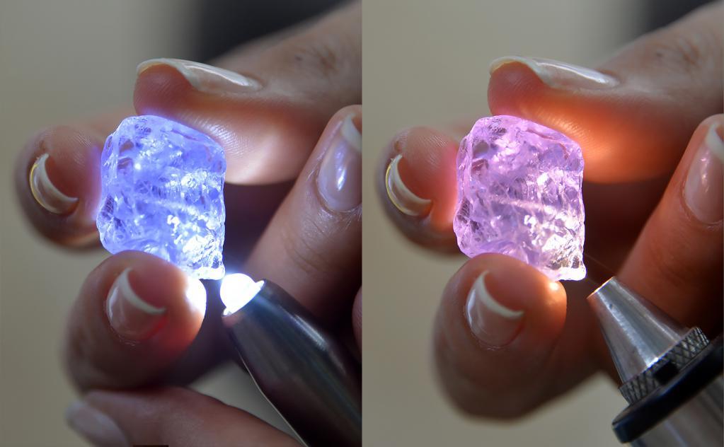 Транспарентност и преламање светлости у драгом камењу