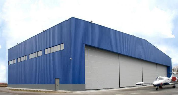 foto dell'hangar dell'hangar