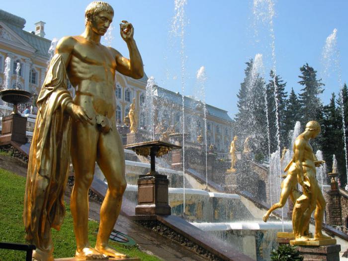 отварање фонтана у петерхофу