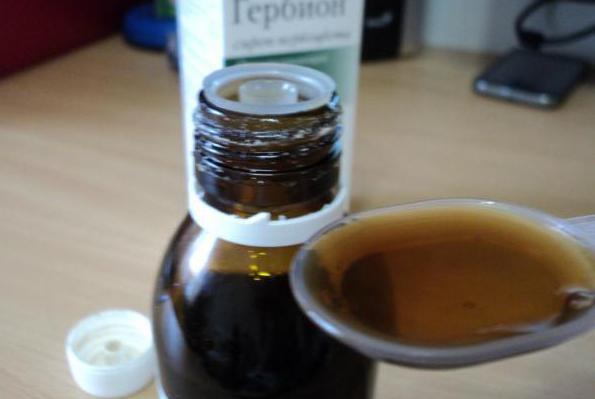 jagoda in timijanov herbionski sirup