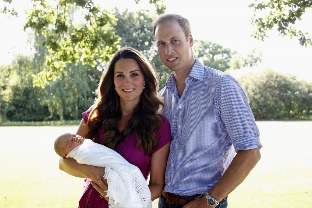 Новороден принц Джордж