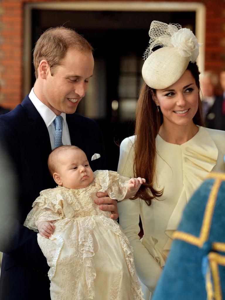 Кръщението на принц Джордж от Кеймбридж