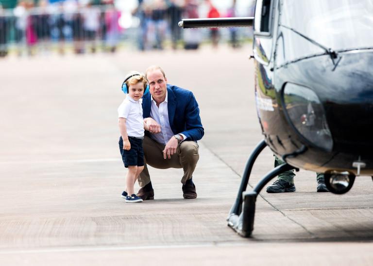 Джордж Кеймбридж мечтае да стане пилот