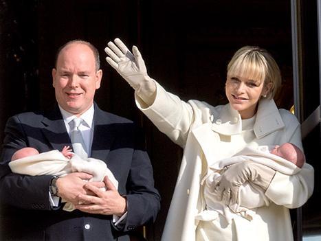 Principe di Monaco Alber e Principessa Charlene