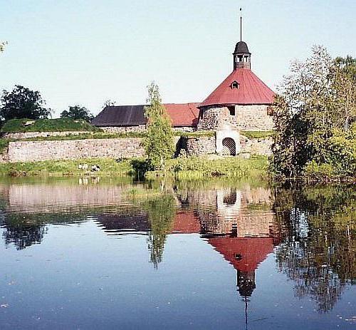 Priozersk attrazioni cascate di Losevo