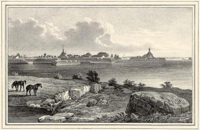 punti panoramici della città di Priozersk