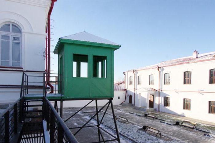 Orario di apertura della baracca della prigione