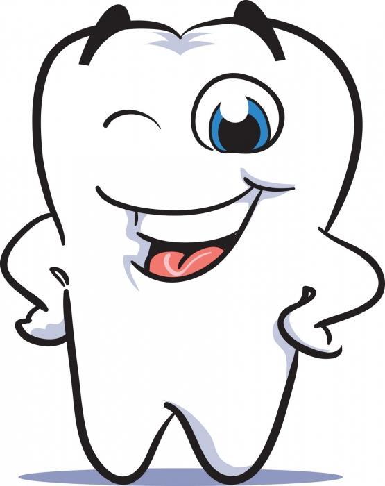 lavarsi i denti dalla pietra