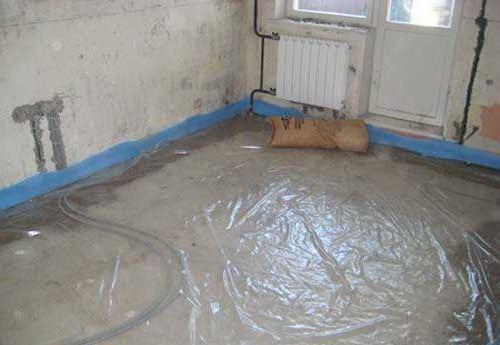 pavimento in massetto asciutto knauf pro e contro