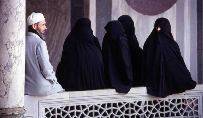 Islam omogoča poligamijo