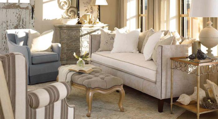 Прованс стил мебели