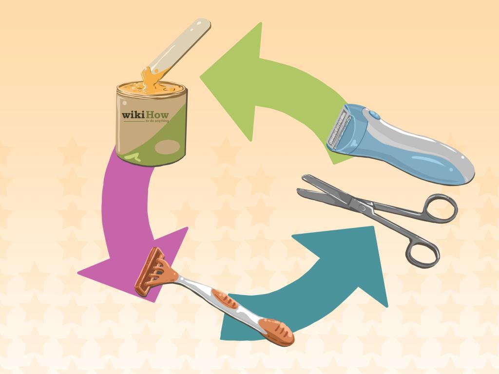 metodi di rimozione dei peli pubici