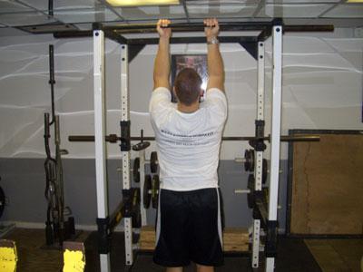 povlačenjem natrag zahvat koji mišići