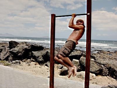 vježbe snage na traci