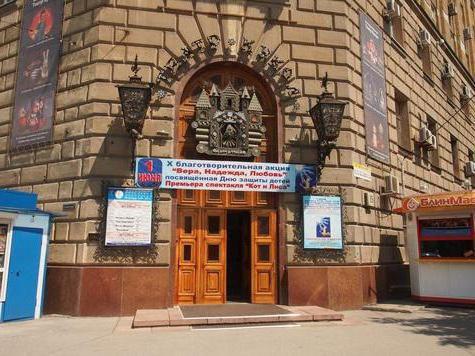 Raspored kazališta lutaka Volgograd