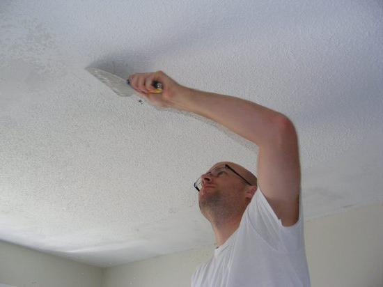 jak připravit strop pro malování