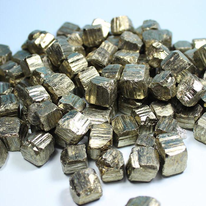 formula minerale di pirite