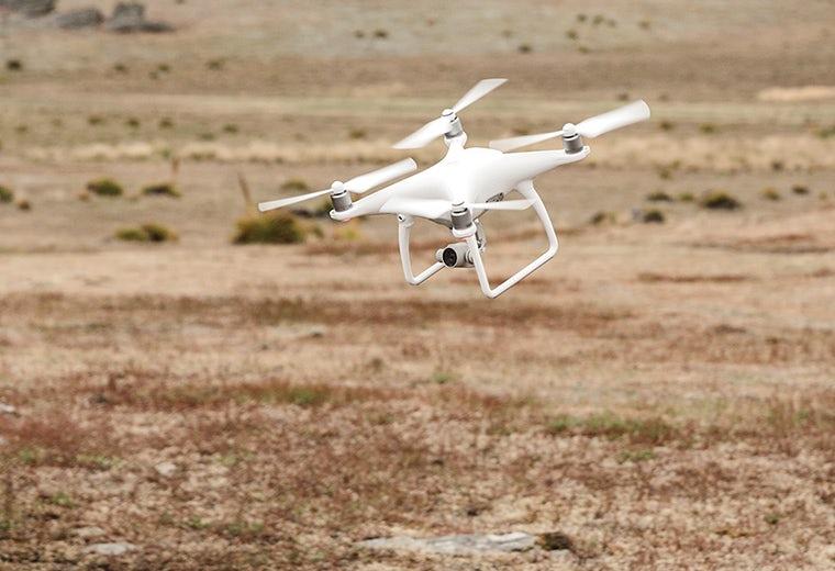 Quadcopter di volo DJI Phantom 4