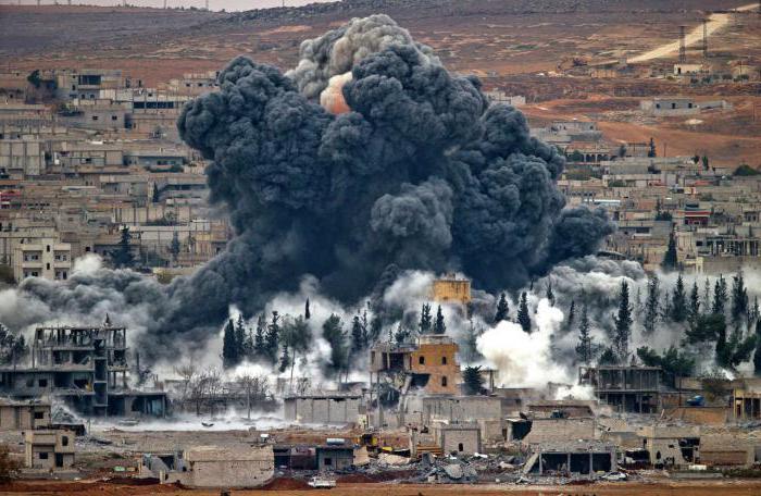razmere v rakka siriji