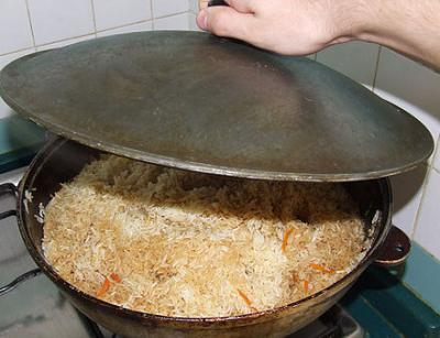 Kako kuhati Uzbek plov