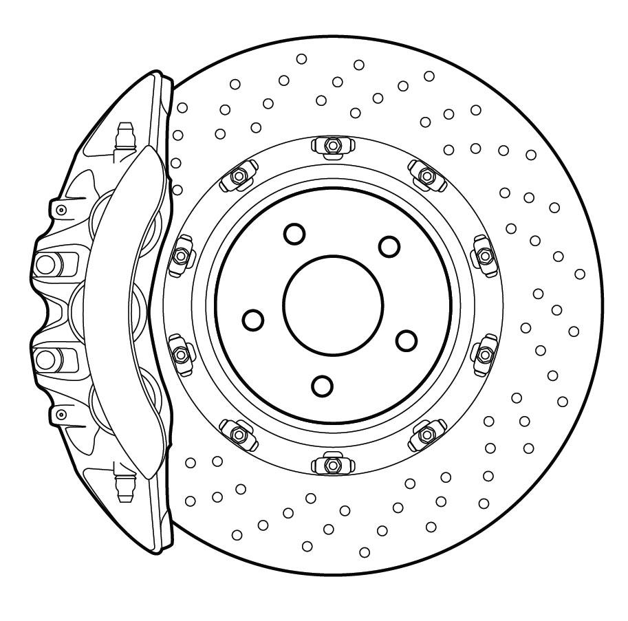 Дизайн на спирачния апарат