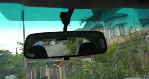 specchio del salone