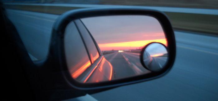 specchietto retrovisore sinistro