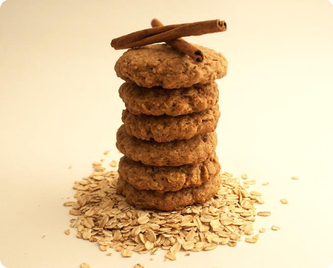 biscotti magri di farina d'avena
