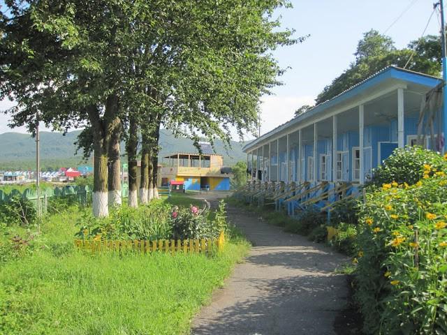 centro ricreativo della regione balneare di shamora