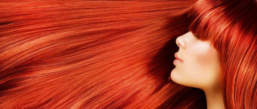 Tinture per capelli rosse