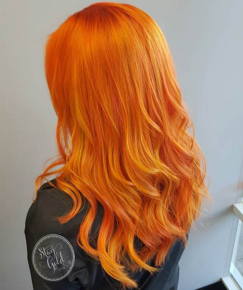 Tinture per capelli fiori rossi