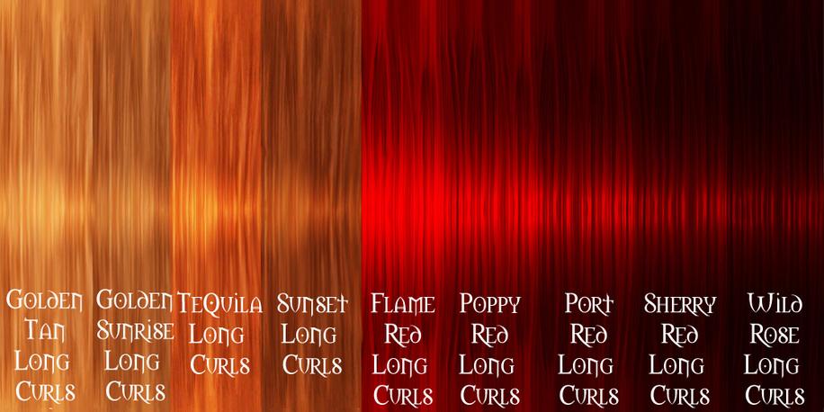 Colorante rosso per i capelli