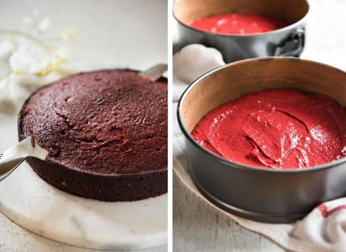 torta di velluto rosso
