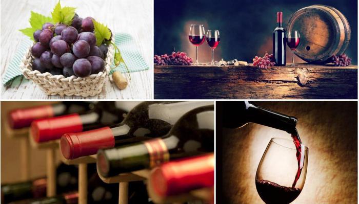 црвена полуслатка вина