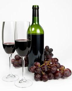 добро црно вино