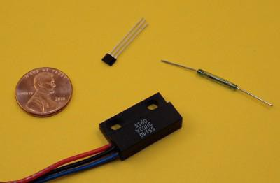 Reed senzorsko vezje