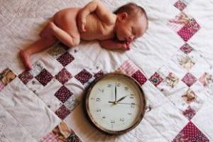 regime di giorno neonato