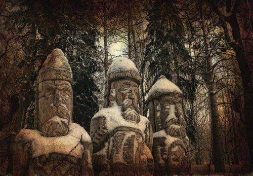 religione pagana degli slavi orientali