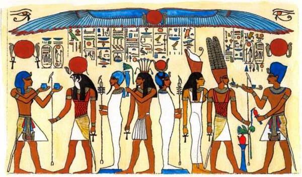 dei dell'antico Egitto