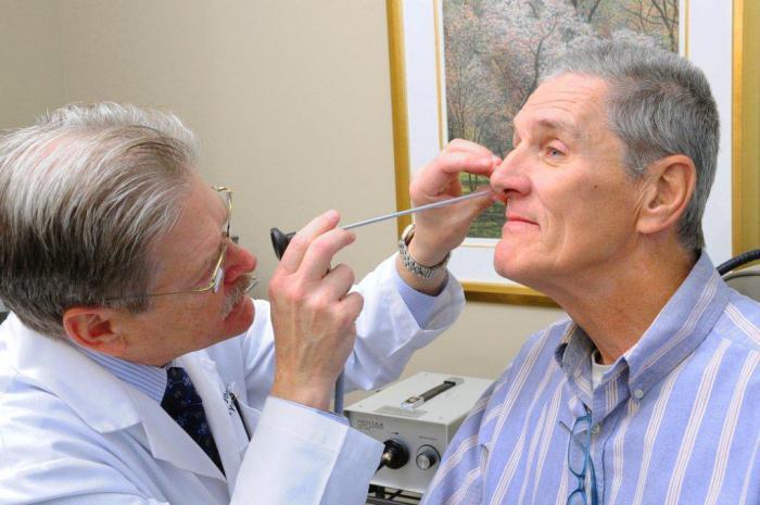 rimozione chirurgica dei polipi del naso