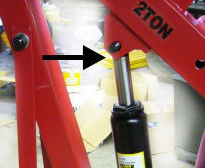 riparazione martinetto idraulico bottiglia fai da te