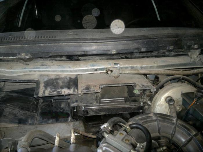 zamjena štednjaka hladnjaka VAZ 2110