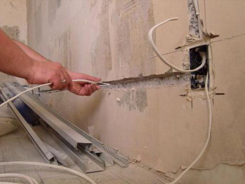 wymiana okablowania w domku panelowym