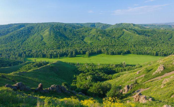 rezerwy z listy regionów Orenburg