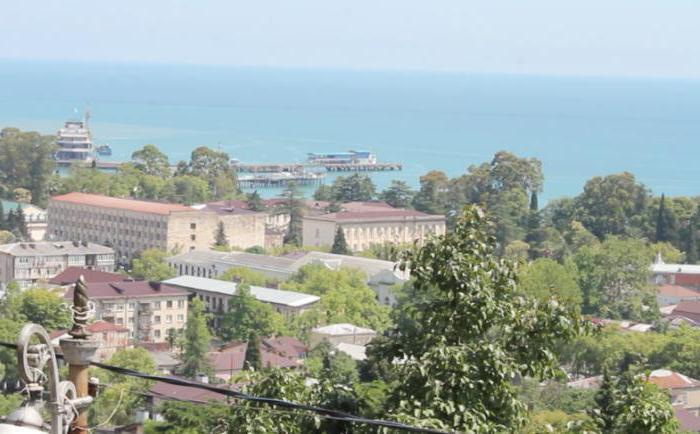 Abhazija u rujnu
