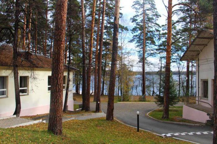 centro ricreativo negli Urali in estate