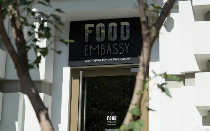 restauracja ambasady żywności